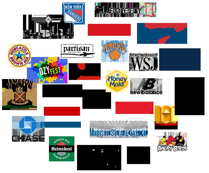 Resonant client logos